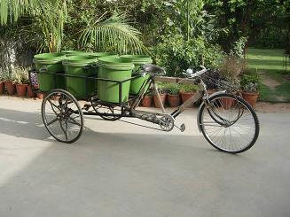 RMSCO Waste Management Rickshaw