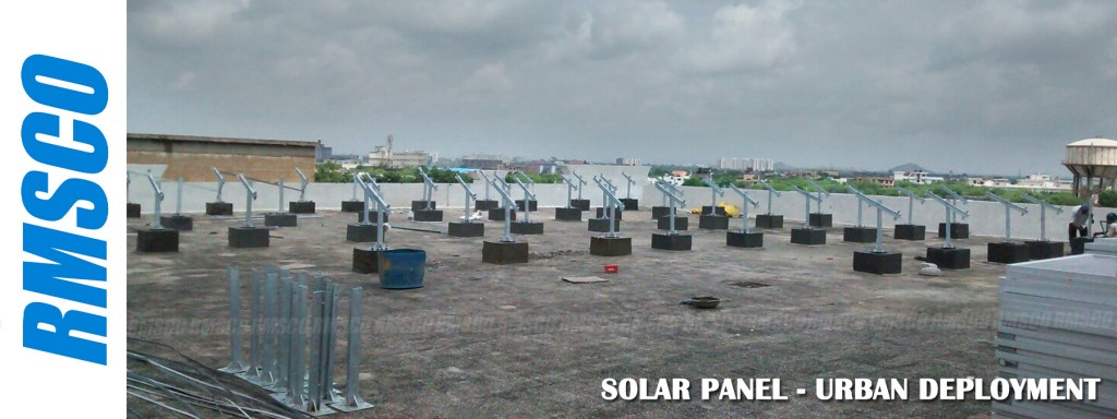 Urban Deployment of RMSCO Solar Panel Mounting Structure