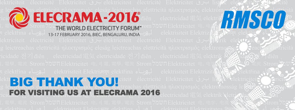 ELECRAMA 2016